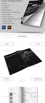 Resume Booklet Template Best of Resume Booklet Template Fastlunchrockco