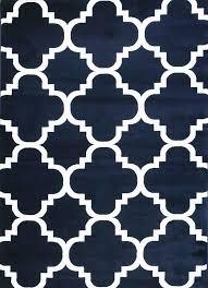 home design luxury navy trellis rug nuloom blue 6 ft x 9 area mtvs27d 609