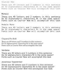 What Are Some Typewriter Fonts In Microsoft Word Quora