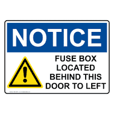osha fuse box located behind this sign with symbol one 30279 Fuse Box Symbol Fuse Box Symbol #87 fuse box symbols