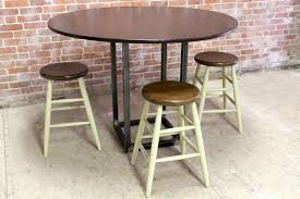 54 inch round counter height table