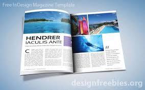 Indesign Magazine Templates Free Adobe Indesign Magazine Template Magazine Template
