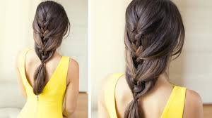 Luxy Hair Style relaxed french braid youtube 3541 by wearticles.com