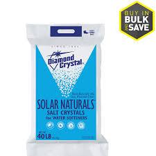 diamond crystal 40lb salt solar crystals lowes water softener installation38