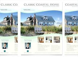 real estate flyer templates free download real estate flyer templates docs in coastal template