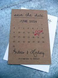 Printable Calendar Save The Date Cards Heart Date Idealpin