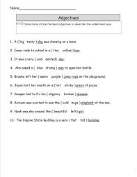 English Printable Worksheets 3 Grade | Learning Printable