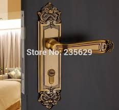 antique door locks. Free Shipping,double Bolts Mortise Lock,European Style Exterior\u0026interior Handle Door Lock,Antique Bronze Finished Lock For Doors-in Locks From Home Antique E