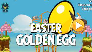 Secret Angry Birds Golden Easter Egg Walkthrough - YouTube