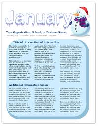 october newsletter ideas january newsletter template oyle kalakaari co