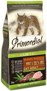 <b>Сухой корм</b> для кошек <b>Primordial</b> беззерновой, с курицей, с ...