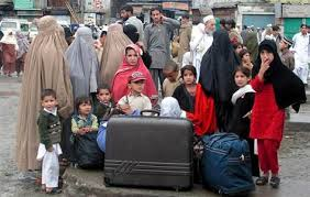 refugees tell of fear under taliban world news south  image local residents flee swat valley