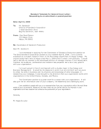 Example Of Cover Letter For Government Job Image Collections