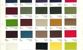 Car Paint Colors Chart Sikkens Paint Color Chart Onourway Co
