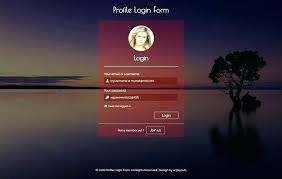 Html Css Login Form Template Emmaplays Co