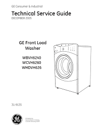 Ge Appliances Service Ge Frontload Washer Washing Machine Manufactured Goods