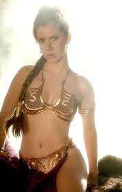 carrie fisher star wars beach. Beautiful Fisher Carrie Fisher In Star Wars Gold Swimsuit Throughout Wars Beach