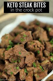 crock pot steak bites recipe keto