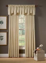 enchanting grey accents wall interior design for family bedroom ideas with beautiful cream long curtain model using valances