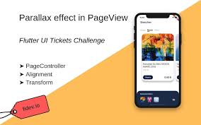 Parallax Effect In Pageview Ui Tickets Challenge Fidev