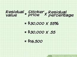 Lease Payment Calculator Extraordinary How To Calculate A Lease Payment 48 Steps With Pictures