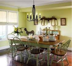 country dining room ideas. Country Dining Room In Green Idea Ideas R