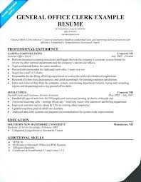 Clerical Resume Templates Enchanting Office Clerk Resume Samples Clerical Administrative Sample Template