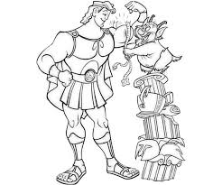 Small Picture Hercules Muscular Hercules Coloring Pages Pinterest Disney