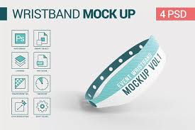 Download 110+ royalty free wristband mockup vector images. Event Wristband Mockup Psd Template Free Downloads 777 Logo Mockups