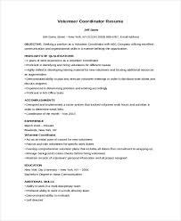 Volunteer Resume Samples Michael Resume