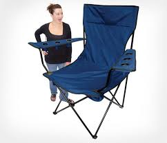 outdoor camping chair. Giant Folding Chair - Travel With 6 Cup Holders Outdoor Camping