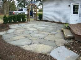 how to lay flagstone best way to lay a flagstone patio inspirational how to lay stone