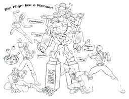 Power Rangers Coloring Pages Roomhiinfo