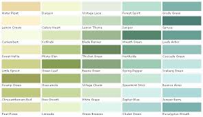 Green Paint Color Chart Martin Senour Paints Martin Senour Colors Martin Senour