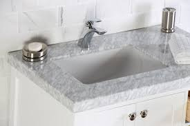 white bathroom vanities with marble tops. Abigail 36\ White Bathroom Vanities With Marble Tops
