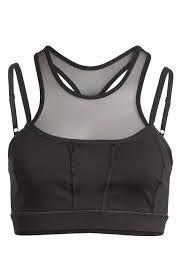 Zella Sports Bra Size Chart Zella Black Body Mesh Stealth Activewear Sports Bra Size 2 Xs 26