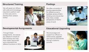 careers in nea nea career progression