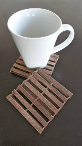 popsicle sticks is a coaster