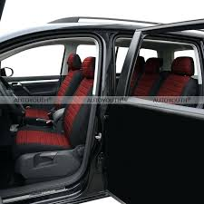 car seats van car seat covers 5 seats red airbag compatible foam positive feedback is