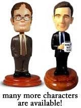 the office merchandise. Dwight Schrute Bobblehead, Michael Scott The Office Merchandise Y
