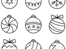 They'll be sure to keep the little ones busy while you prepare for the holidays! Christmas Ornament Coloring Pages Tulamama