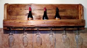 pallet wine glass rack. Contemporary Pallet Rustic Wine U0026 Glass Rack To Pallet