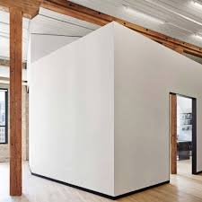 Office room interior design photos Small Manager Room White Partitions Divide Chicago Law Office By Vladimir Radutny Dezeen Office Interior Architecture And Design Dezeen