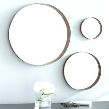 3 piece mirror set oaks banded round accent mirrors reviews kmart
