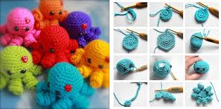 Octopus Crochet Pattern Classy Mini Amigurumi Crocheted Octopus [FREE Crochet Pattern]