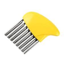 <b>1pcs</b> Stainless Steel Crinkle <b>Cutter</b> - <b>Potato Chip Cutter</b> Stainless Steel
