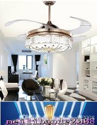 2019 new flushmount ceiling fan with light for dining room fancy ceiling lamp with fan amyy from meilibaode2008 415 08 dhgate com