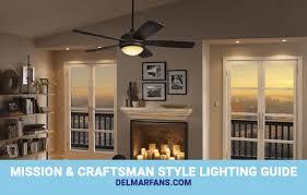 mission craftsman style lighting