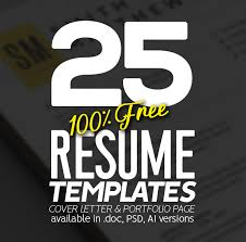 100 Free Resume Template 25 Fresh Free Professional Resume Templates Freebies Graphic