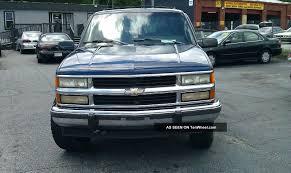 1994 94 Chevrolet K1500 Suburban 1500 4x4 4wd Tow Blue Truck Chevy ...